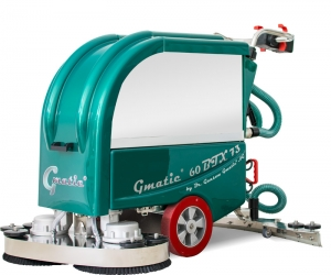 Handgeführte Scheuersaugmaschine Gmatic 60BTX73