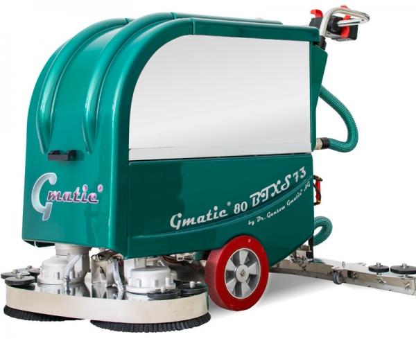 Handgeführte Scheuersaugmaschine Gmatic 80BTXS73